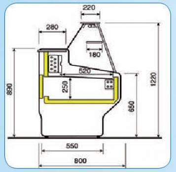 k hltheken shop k hltheke 2 0 meter. Black Bedroom Furniture Sets. Home Design Ideas
